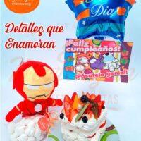 Detalles que enamoran Iron Man, Marvel. El Merengón, Bogotá