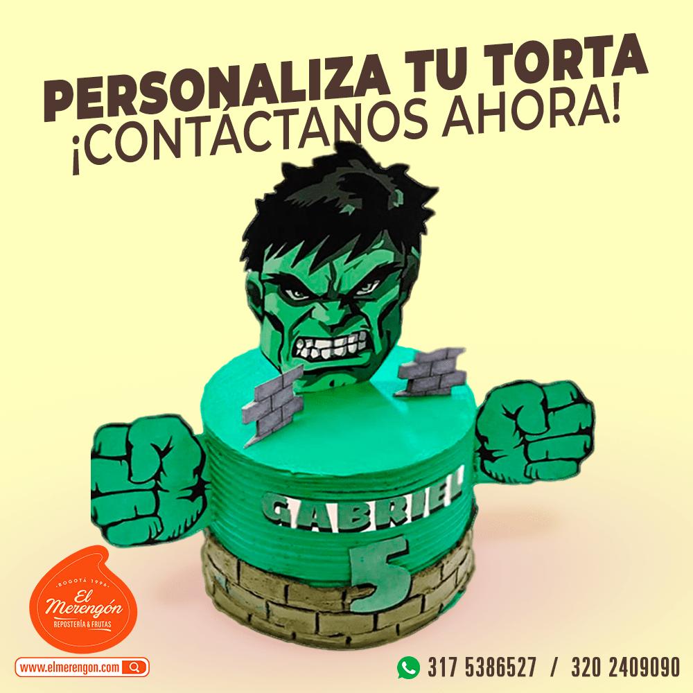 Torta Hulk, El Merengón