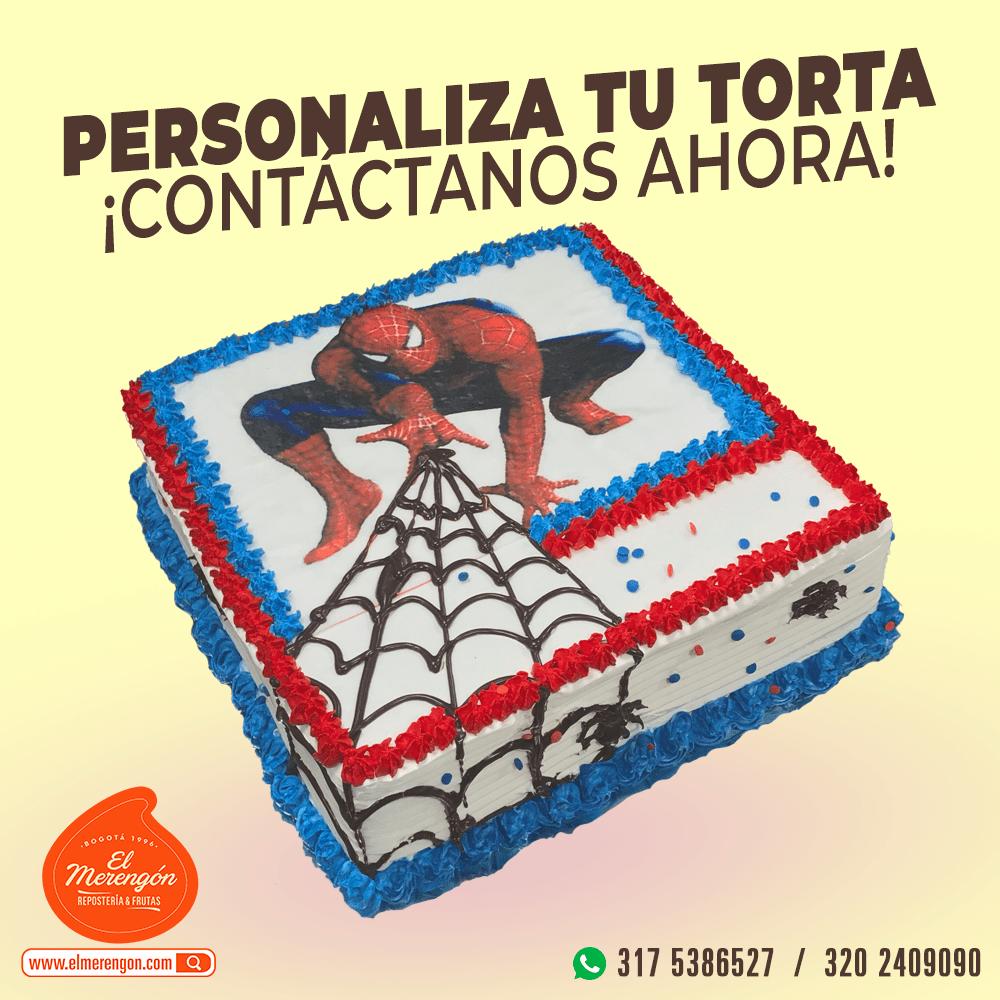 Torta Spider-Man, El Merengón