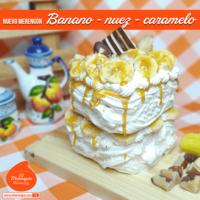 Merengón Personal Banano/Nuez/Caramelo.